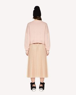 "REDValentino Wool jumper with ""Heart Breaker"" inlay"