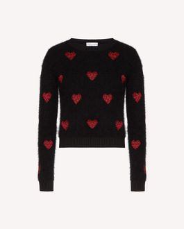 REDValentino Knit Sweater Woman SR3KCB464E5 0NO a