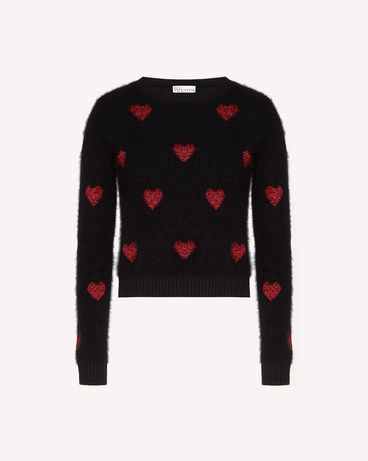 REDValentino SR3KCB574F1 0NO Knit Sweater Woman a