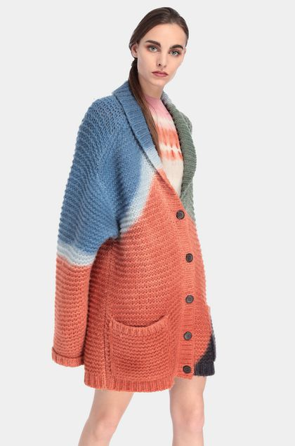 MISSONI Cardigan Ruggine Donna - Fronte