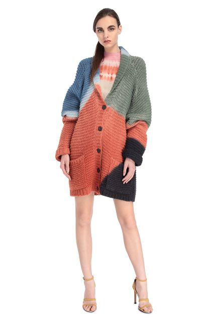 MISSONI Cardigan Rust Woman - Back