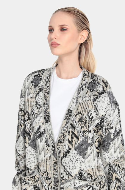 MISSONI Cardigan Grey Woman - Front