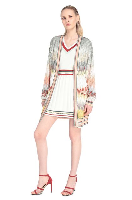 MISSONI Cardigan Light green Woman - Back