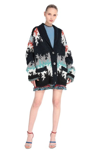 MISSONI Cardigan Blu scuro Donna - Retro