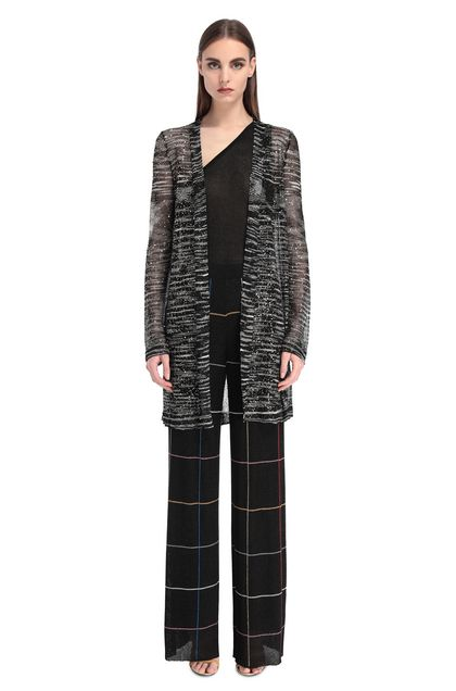 MISSONI Cardigan Nero Donna - Retro