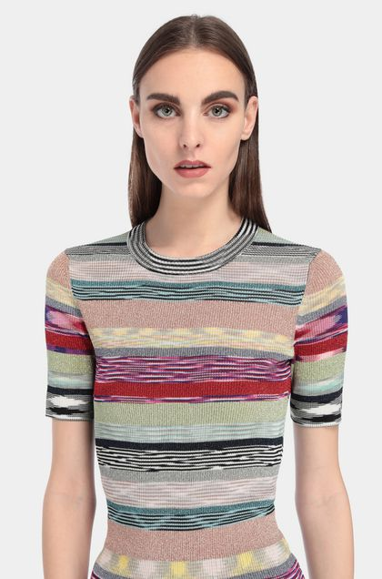 MISSONI Sweater Red Woman - Front