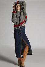 DSQUARED2 Alpaca Turtleneck Over Pullover 高领套衫 女士