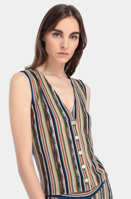 MISSONI Cardigan Blue Woman - Front