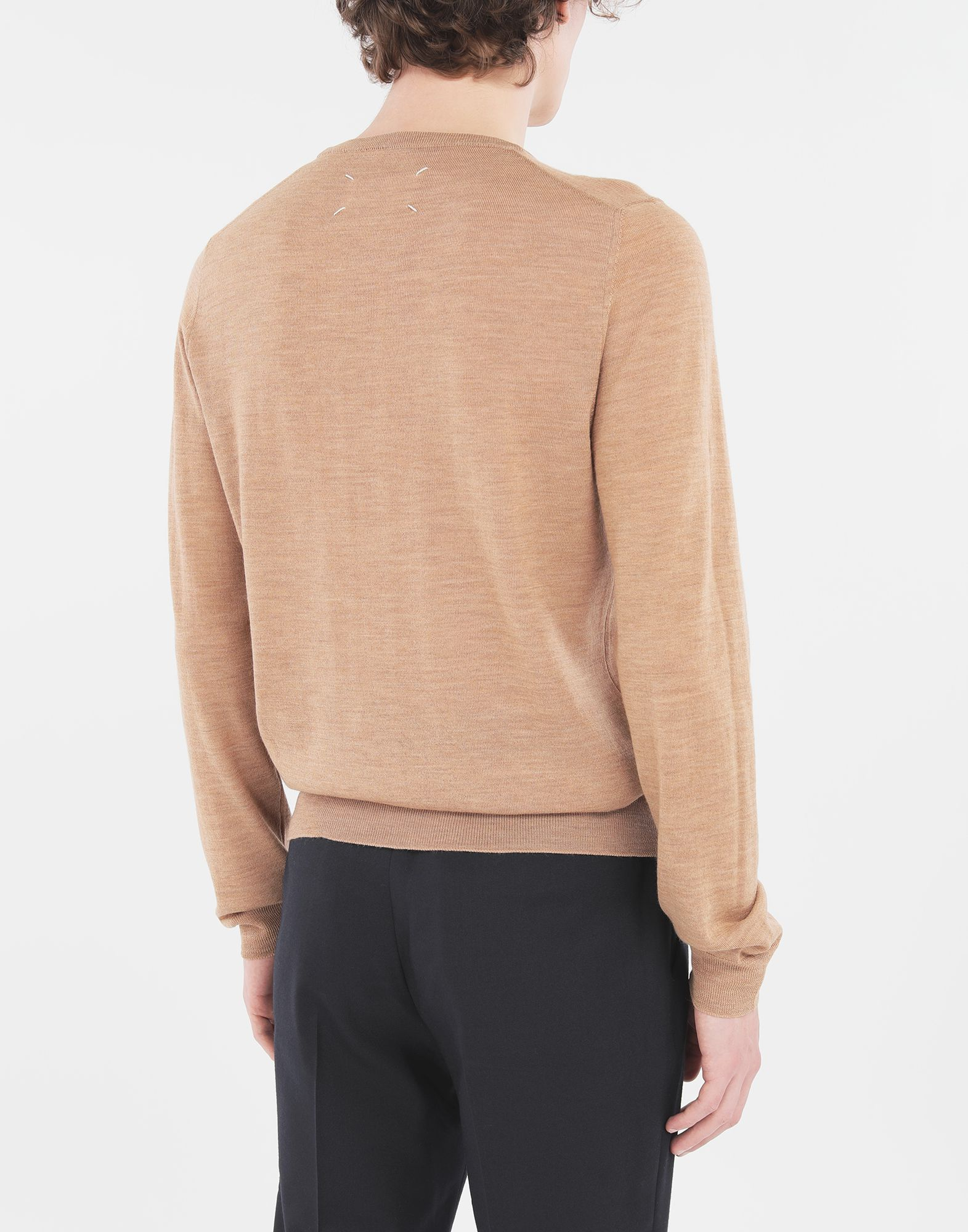 MAISON MARGIELA Wool sweater Crewneck Man d