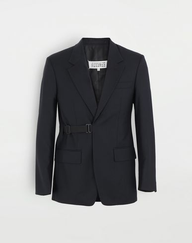 MAISON MARGIELA Side-strap blazer Jacket Man f