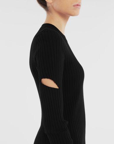 SWEATERS Décortiqué pullover Black