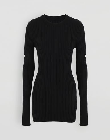 MM6 MAISON MARGIELA Décortiqué pullover Crewneck sweater Woman f
