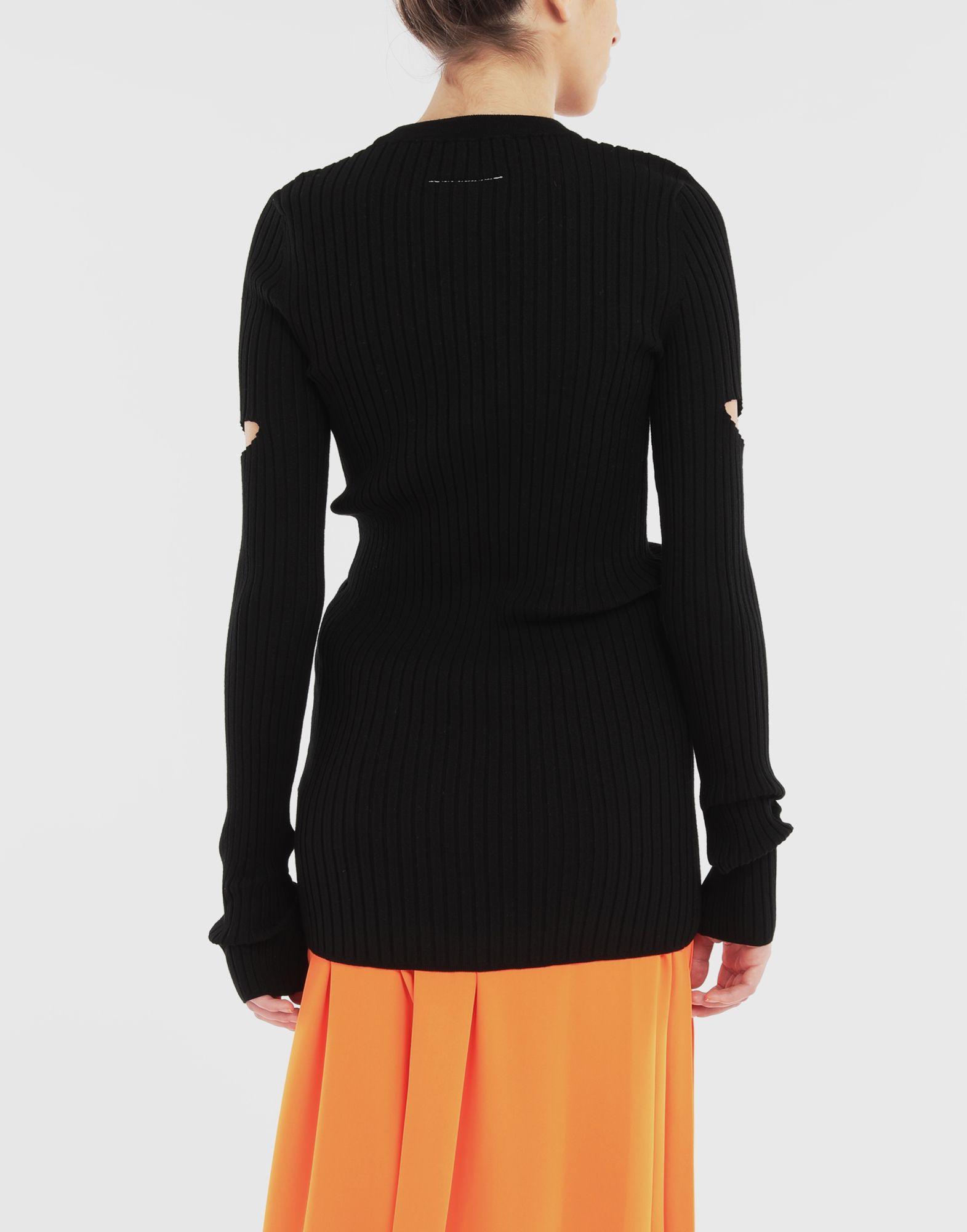 MM6 MAISON MARGIELA Décortiqué pullover Crewneck sweater Woman e