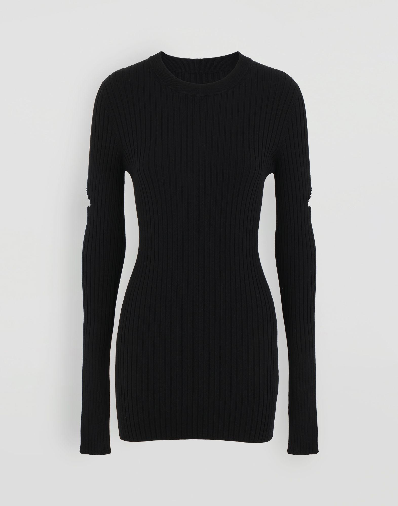 MM6 MAISON MARGIELA Décortiqué pullover Crewneck sweater Woman f