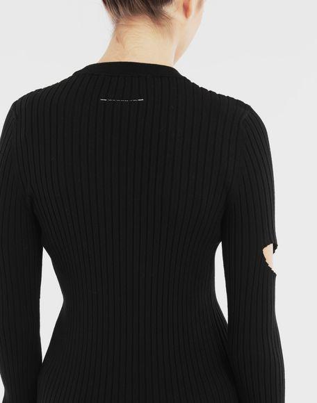MM6 MAISON MARGIELA Décortiqué pullover Crewneck sweater Woman b