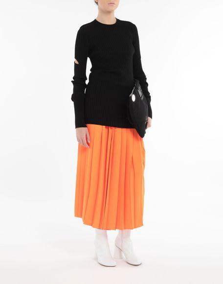 MM6 MAISON MARGIELA Décortiqué pullover Crewneck sweater Woman d