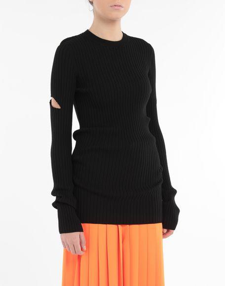 MM6 MAISON MARGIELA Décortiqué pullover Crewneck sweater Woman r