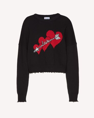 REDValentino SR3KCB084CQ JY8 Knit Sweater Woman a