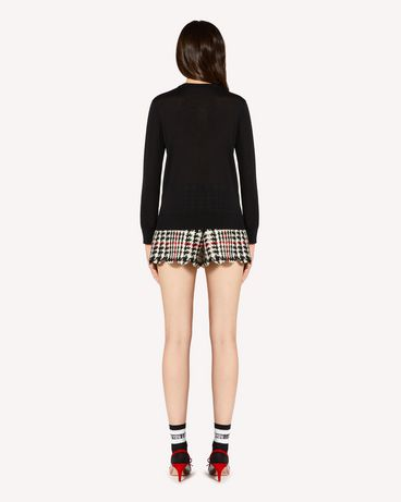 REDValentino SR3KCB304FN 0NO Knit Sweater Woman r