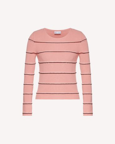 REDValentino SR3KCB514GG 6X2 Knit Sweater Woman a