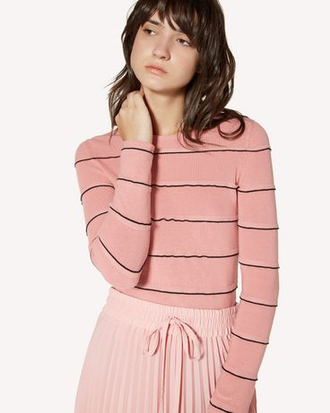 REDValentino SR3KCB514GG 6X2 Knit Sweater Woman e