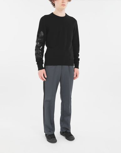 KNITWEAR 'Recycled' sweater Black