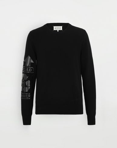 SWEATERS 'Recycled' sweater Black