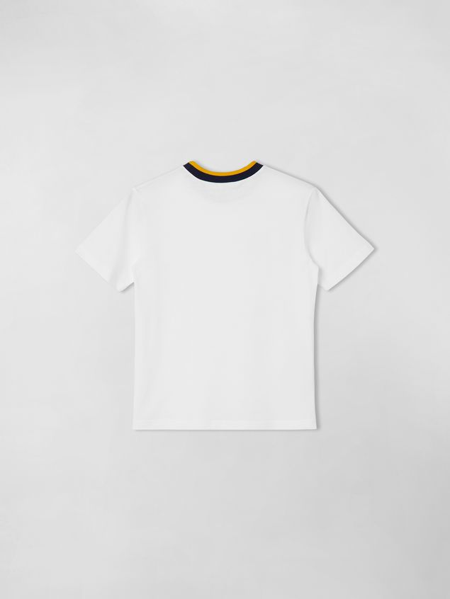 Marni SHORT-SLEEVE T-SHIRT WITH PRINT ON THE FRONT  Man - 2