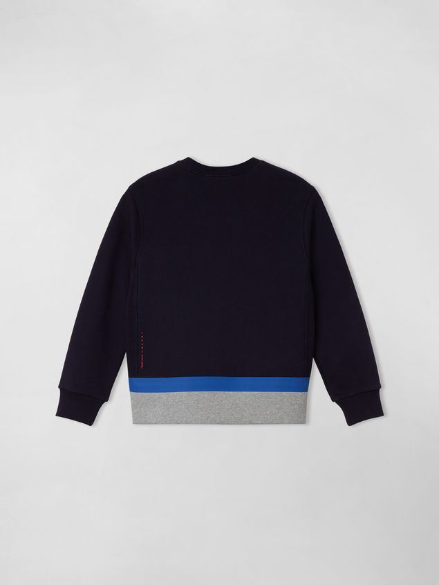 Marni COTTON SWEATSHIRT WITH PRINT ON THE FRONT Man