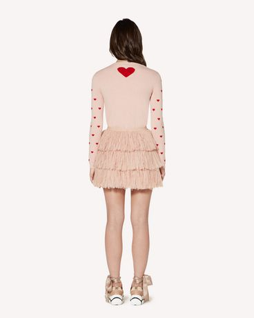 REDValentino SR3KCB154F5517 Knit Sweater Woman r