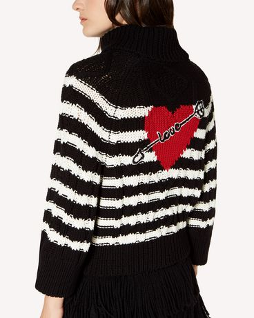 REDValentino SR3KCB314E6 0MG Knit Sweater Woman e