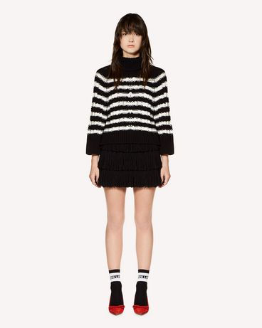 REDValentino SR3KCB314E6 0MG Knit Sweater Woman f