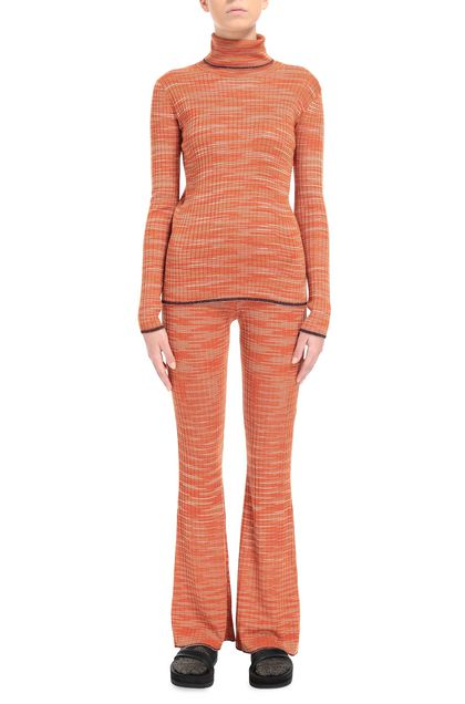 M MISSONI Sweater Orange Woman - Back