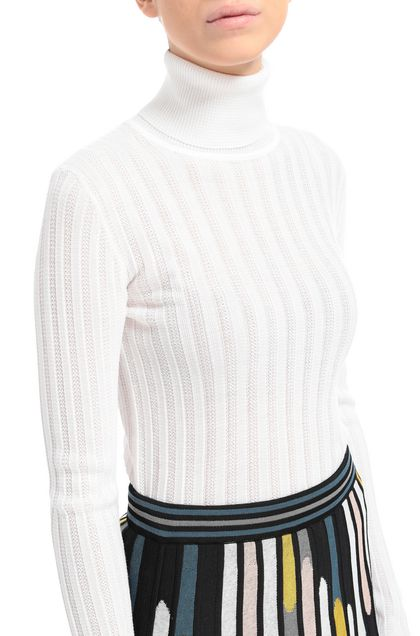 M MISSONI Jumper Ivory Woman - Front