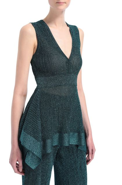 M MISSONI Jumper Deep jade Woman - Front