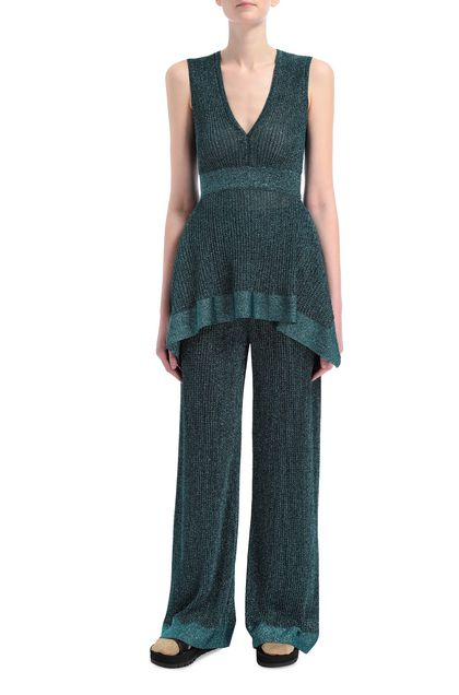 M MISSONI Sweater Deep jade Woman - Back