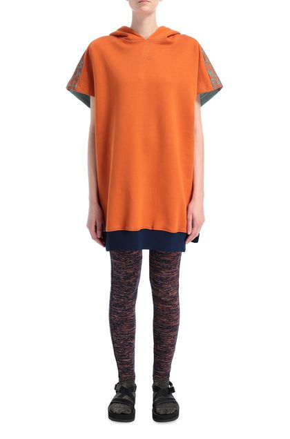 M MISSONI Sweatshirt Orange Woman - Back