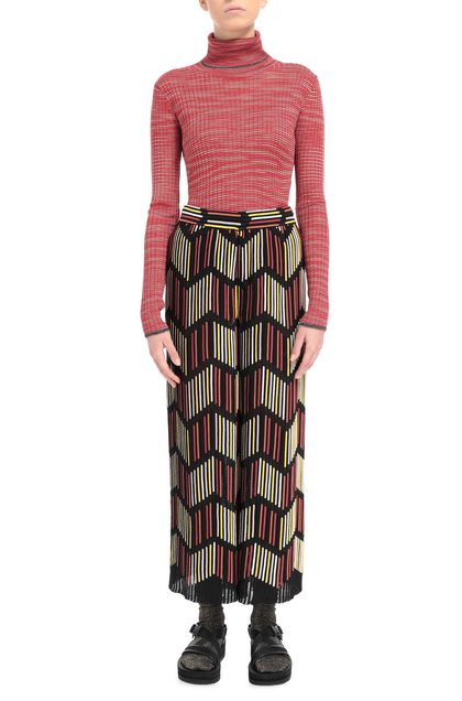 M MISSONI Sweater Brick red Woman - Back