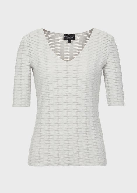 EMPORIO ARMANI Knitted Top Woman d