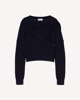 REDValentino Knit Sweater Woman SR3KCB434A7 FW4 a