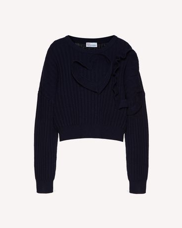 REDValentino SR3KCB264ER B01 Knit Sweater Woman a