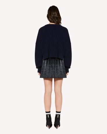 REDValentino SR3KCB264ER B01 Knit Sweater Woman r