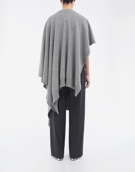 MAISON MARGIELA Asymmetric wool dress Crewneck sweater Woman e
