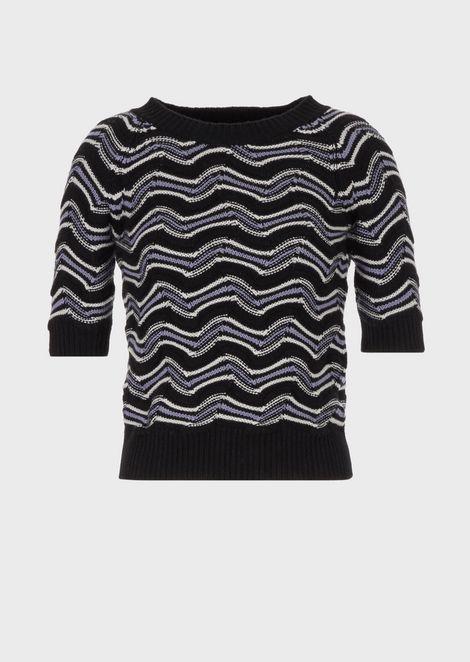 GIORGIO ARMANI Knitted Top Woman d