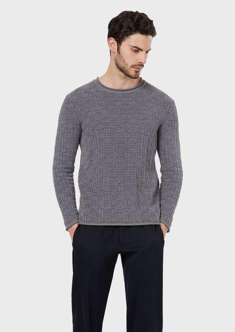 lenkkarit halpaa tukkukauppa tavata Men's Knitwear | Giorgio Armani