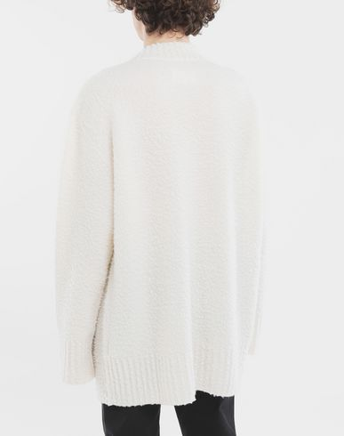 SWEATERS  Oversized wool sweater Ivory