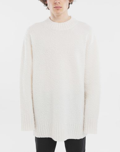 MAISON MARGIELA Crewneck sweater Man Oversized wool sweater r