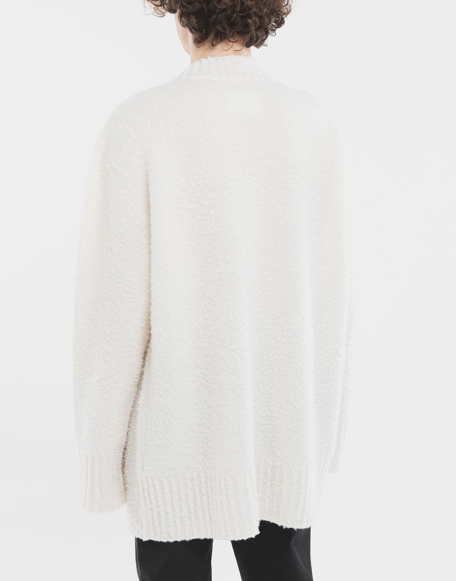 MAISON MARGIELA Oversized wool sweater Crewneck sweater Man e