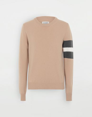 KNITWEAR Stripe sweater  Beige