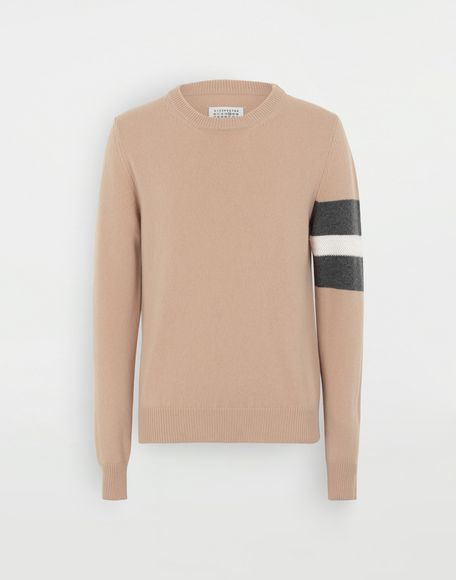 MAISON MARGIELA Stripe sweater Crewneck Man f
